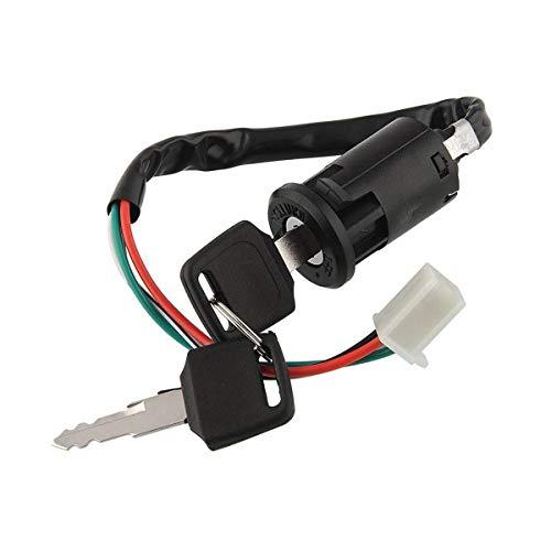 50cc Ignition Switch Key Lock 4 Wire For 70cc 90cc 110cc 150cc 200cc 250cc Chinese Atv Dirt Bike